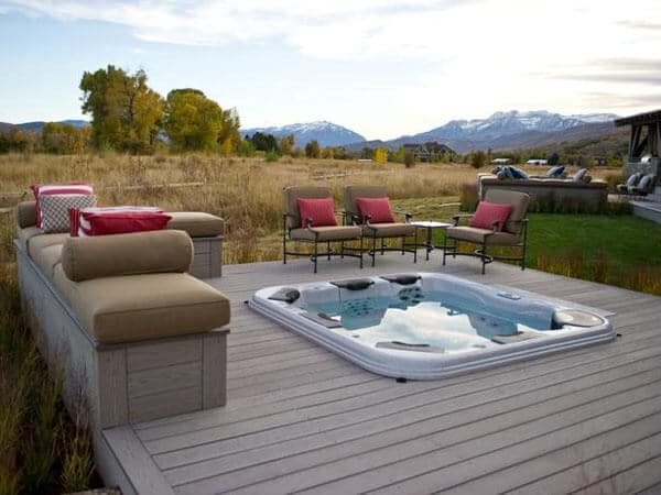Mountain Home with Hot Tub Deck