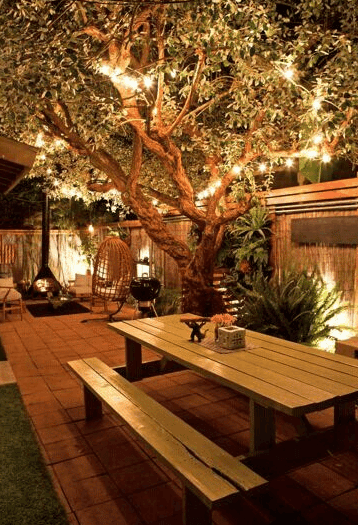Amplify The Beauty Of Your Backyard With Light.