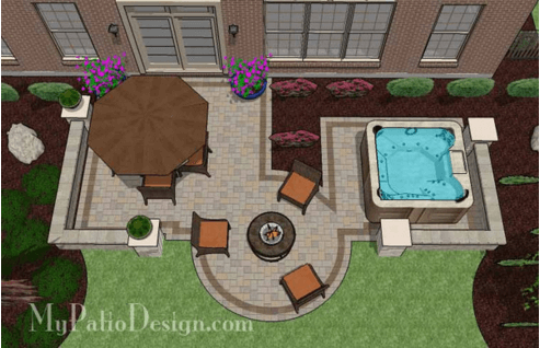 Hot Tub Backyard Ideas Plans Amazing 63 Hot Tub Deck Ideas Secrets Of Pro Installers & Designers Design Inspiration