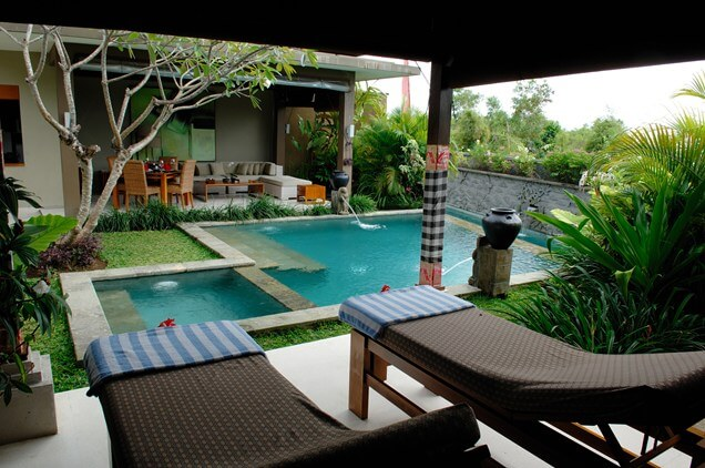 Gorgeoud Backyard with Small Pool